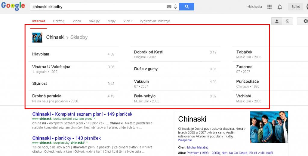 Chinaski skladby   Hledat Googlem