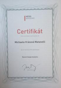 Certifikát pro LadyVirtual