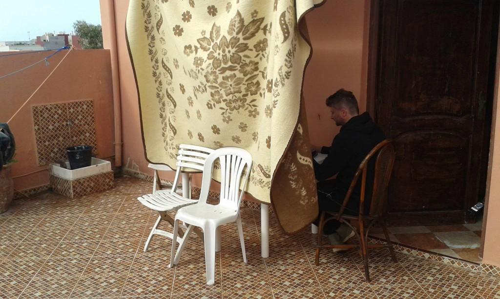 Váš linkbuilder by mohl vypadat jako cestující muzikant Vladimír Rokoský (www.getfound.cz). Hledá odkazy až v Maroku.