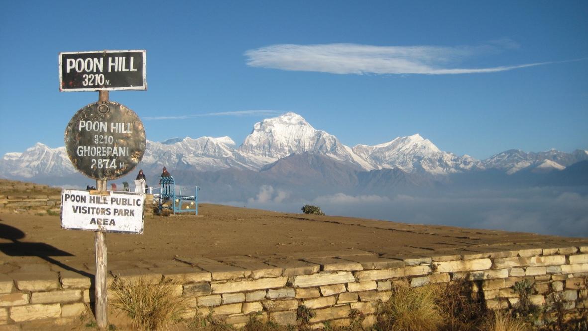 Nepál | Himalájský Poon Hill výhled na Dhaulagiri (8167 m)