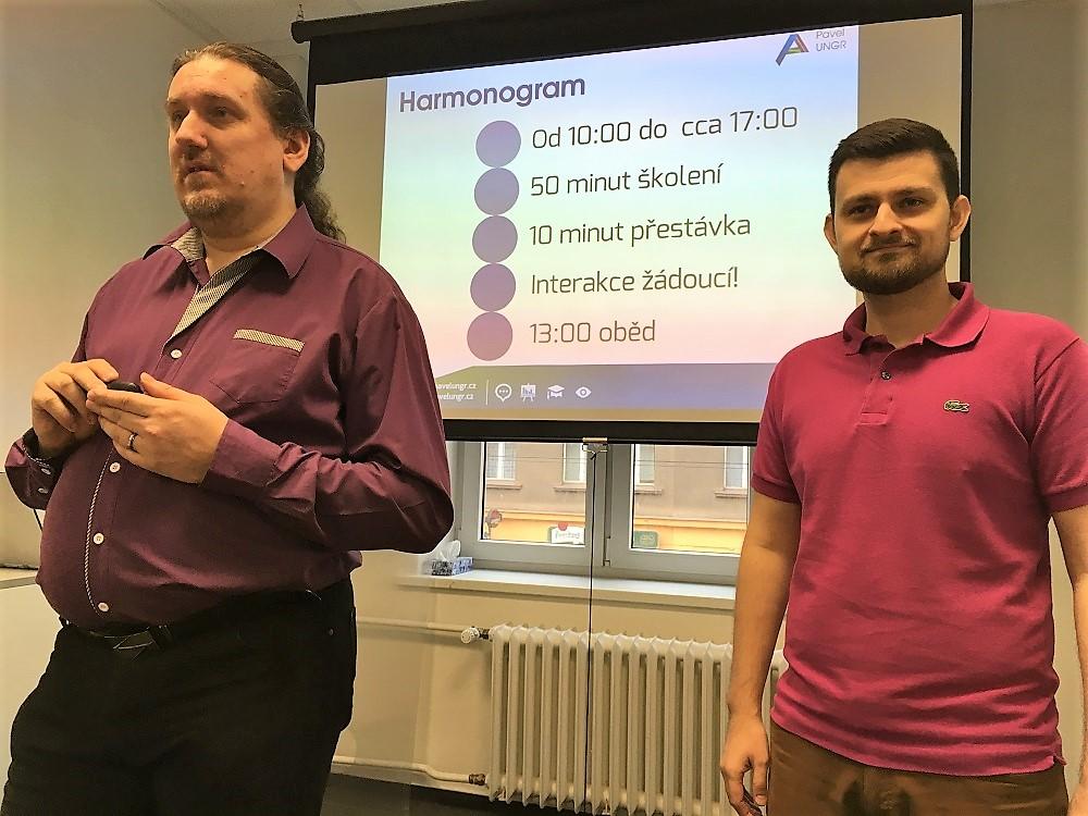 Pavel Ungr a Jarda Hlavinka představují harmonogram kurzu Technické SEO nejen pro vývojáře